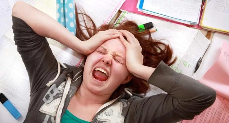 страх перед экзаменом